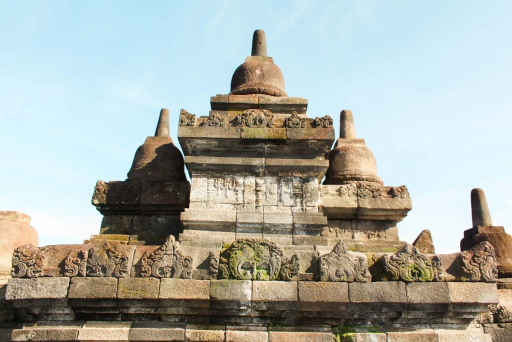 The Borobudur Temple in Java Indonesia is a breathtaking, historical wonder.