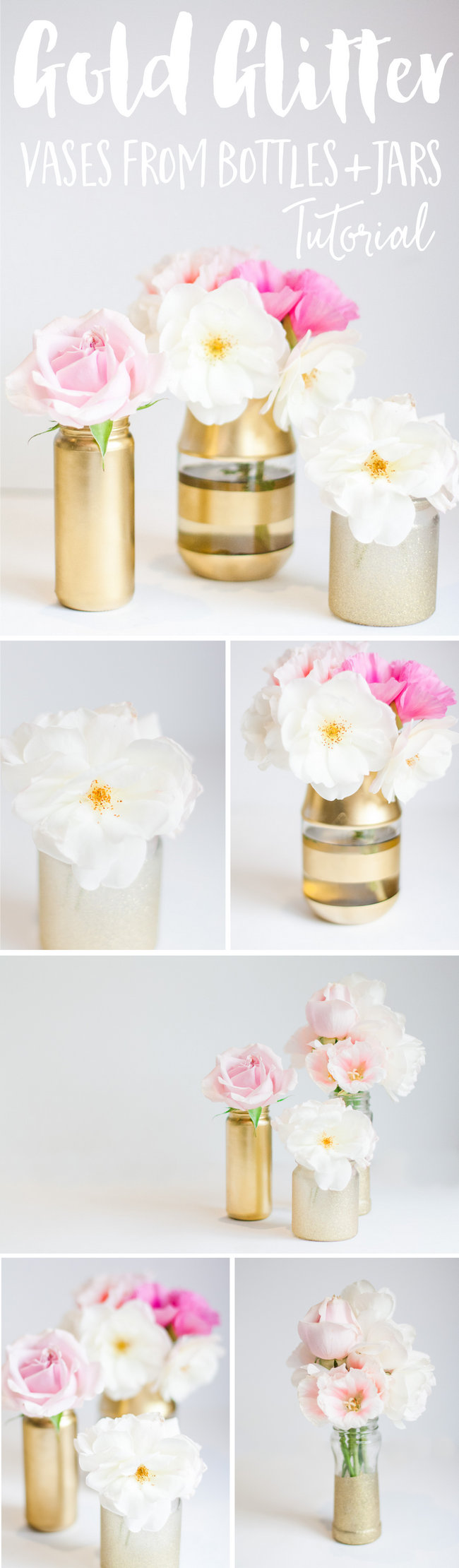 DIY Vases from Bottles (2)