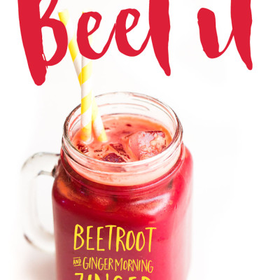 Beet It – Beetroot Ginger Raw Veggie Juice