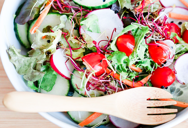 Easy Basic Green Salad Recipe