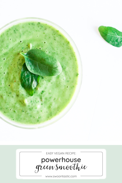 The Ultimate Green Protein Avocado Breakfast Smoothie