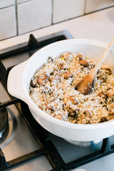 Mushrom Risotto Vegan