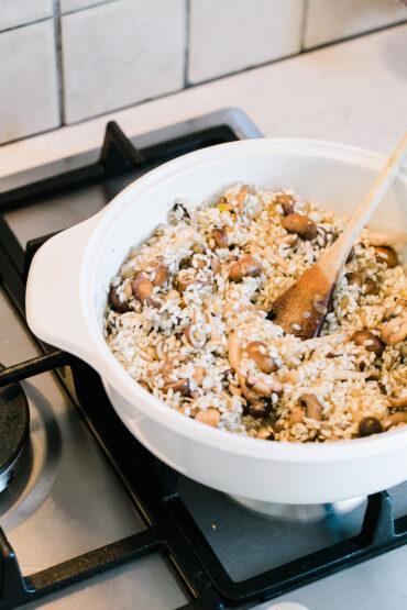 Mushrom Risotto Vegan