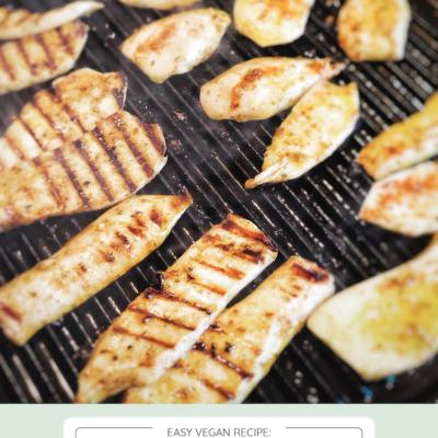 The Ultimate Grilled Vegan Calamari